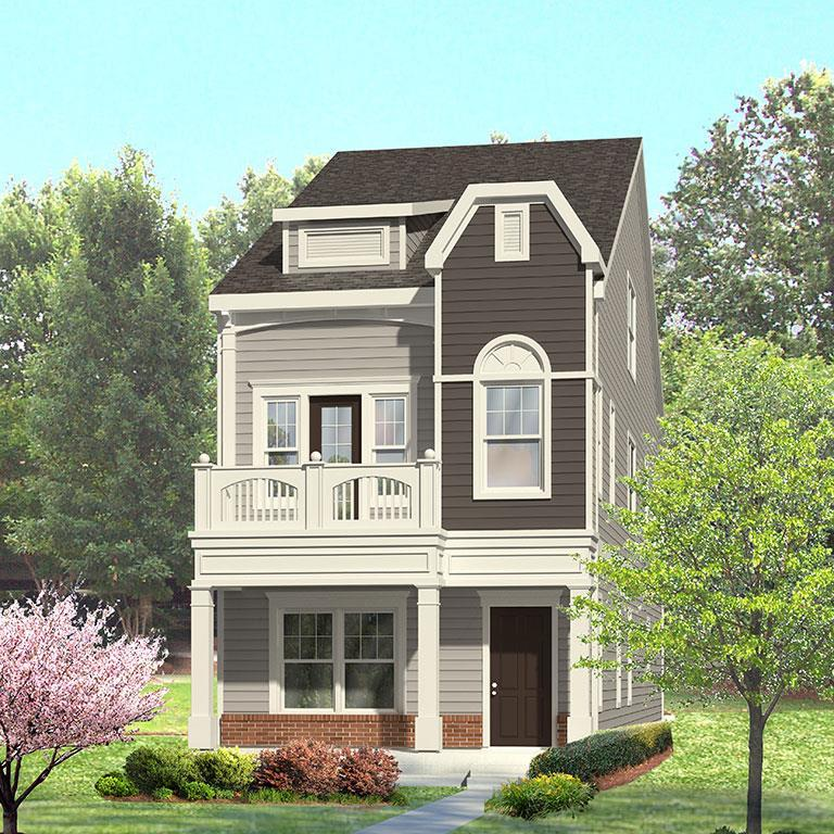 Exterior featured in the King Charles By ExperienceOne Homes, LLC in Raleigh-Durham-Chapel Hill, NC
