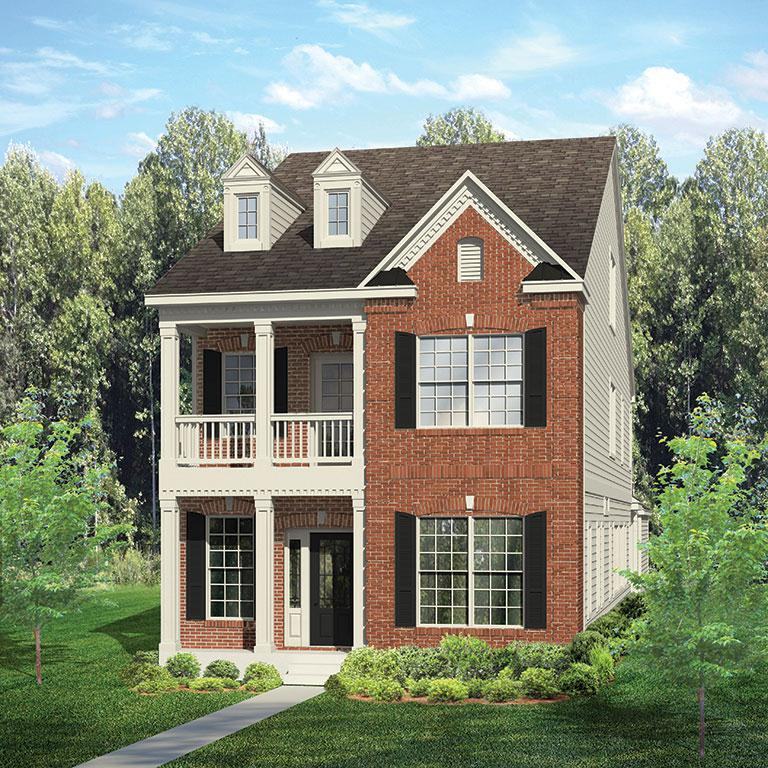 Exterior featured in the Columbia By ExperienceOne Homes, LLC in Raleigh-Durham-Chapel Hill, NC