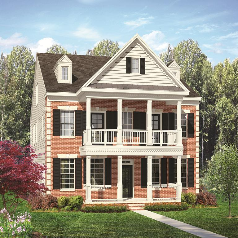 Exterior featured in the Franklin By ExperienceOne Homes, LLC in Raleigh-Durham-Chapel Hill, NC