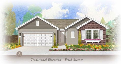 Exterior featured in the The Courtyard By FCB Homes in Stockton-Lodi, CA