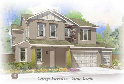 Exterior featured in the The Terrace 3-Car By FCB Homes in Stockton-Lodi, CA