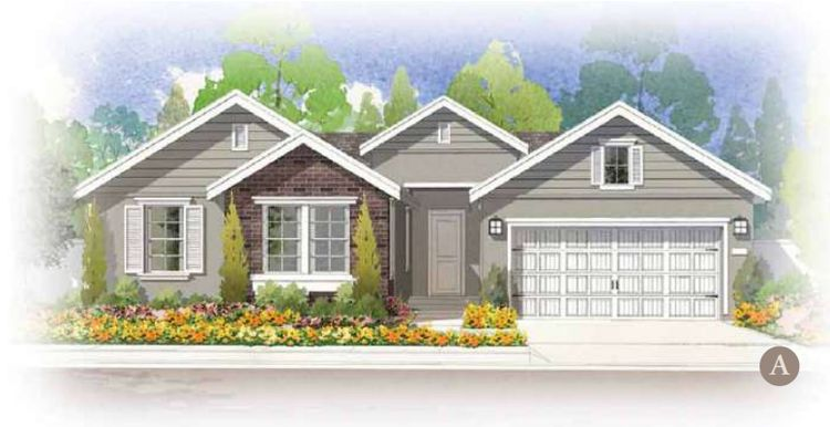 Exterior featured in the The Windsor By FCB Homes in Stockton-Lodi, CA