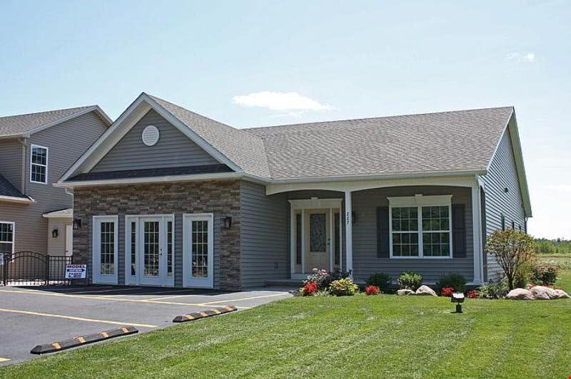 Exterior featured in the Ranch - Trenton By Faber Builders in Rochester, NY