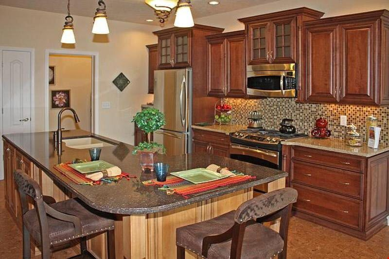 Kitchen featured in the Ranch - Trenton By Faber Builders in Rochester, NY