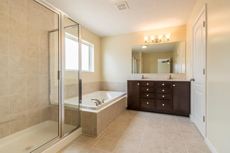 Bathroom featured in the Gerard By Faber Builders in Rochester, NY