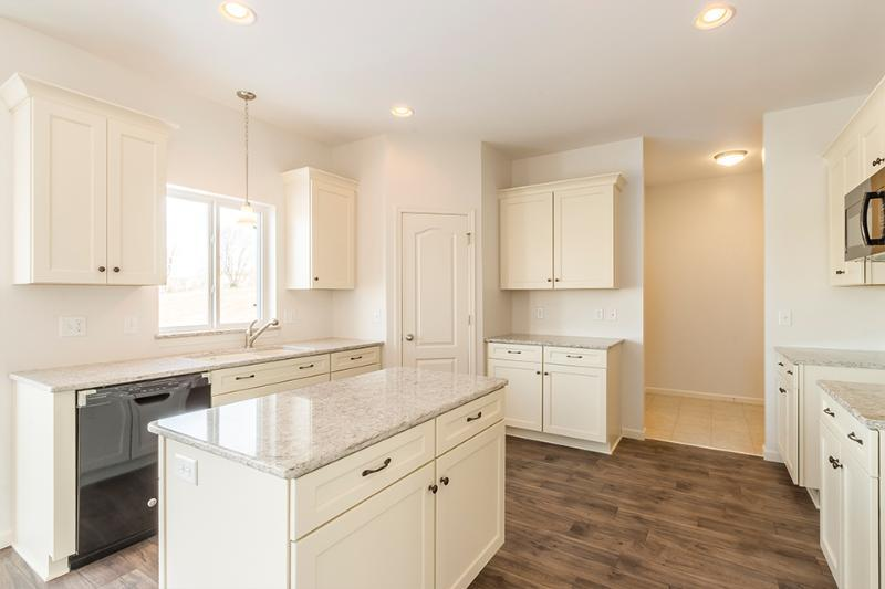 Kitchen featured in the Harrison By Faber Builders in Rochester, NY
