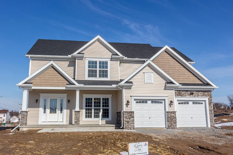 Exterior featured in the Harrison By Faber Builders in Rochester, NY