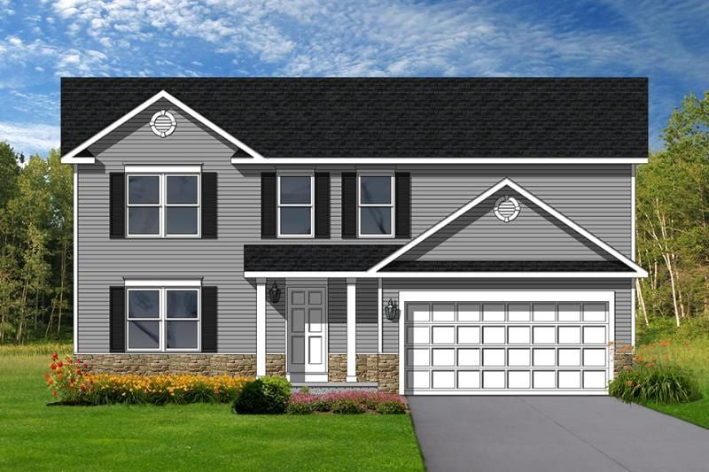 Exterior featured in the Liverpool By Faber Builders in Rochester, NY