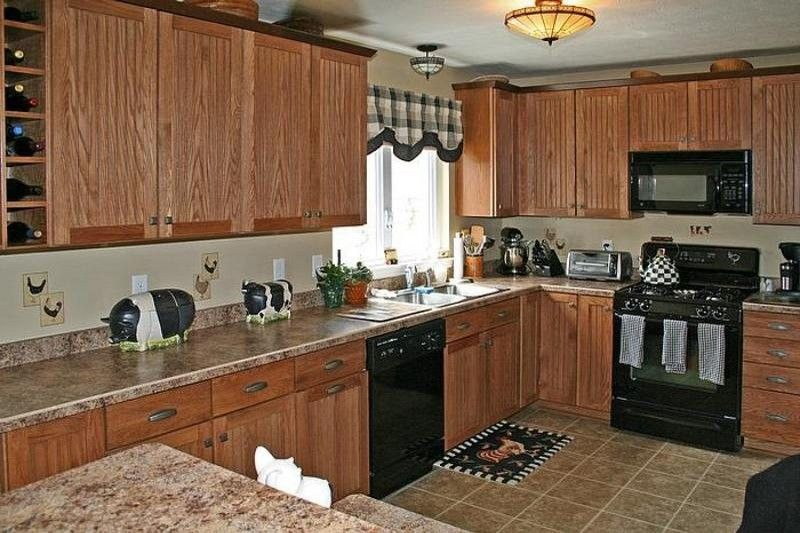 Kitchen featured in the Ranch - Bellwoode By Faber Builders in Rochester, NY
