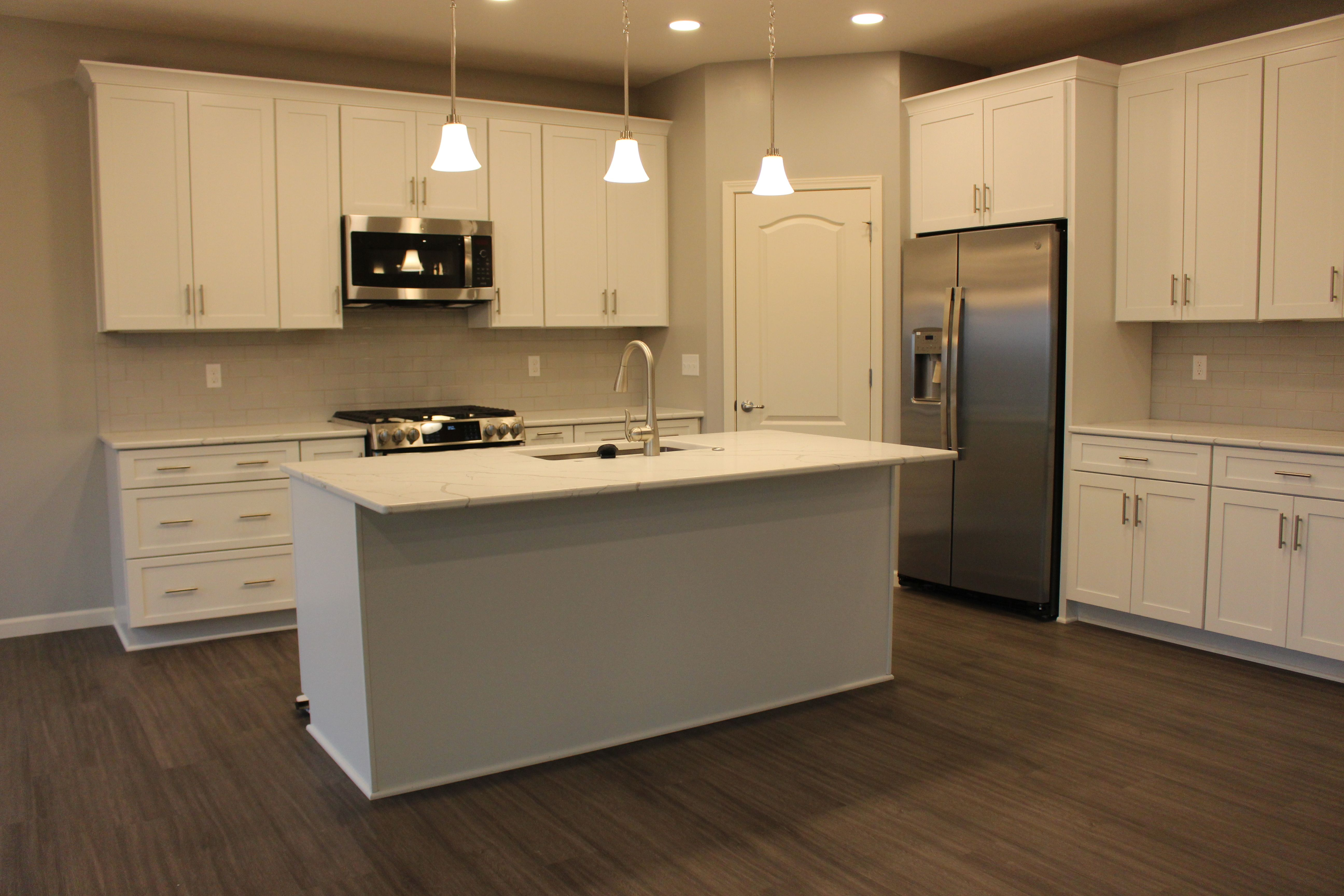 Kitchen featured in the Pinnacle By Faber Builders in Rochester, NY