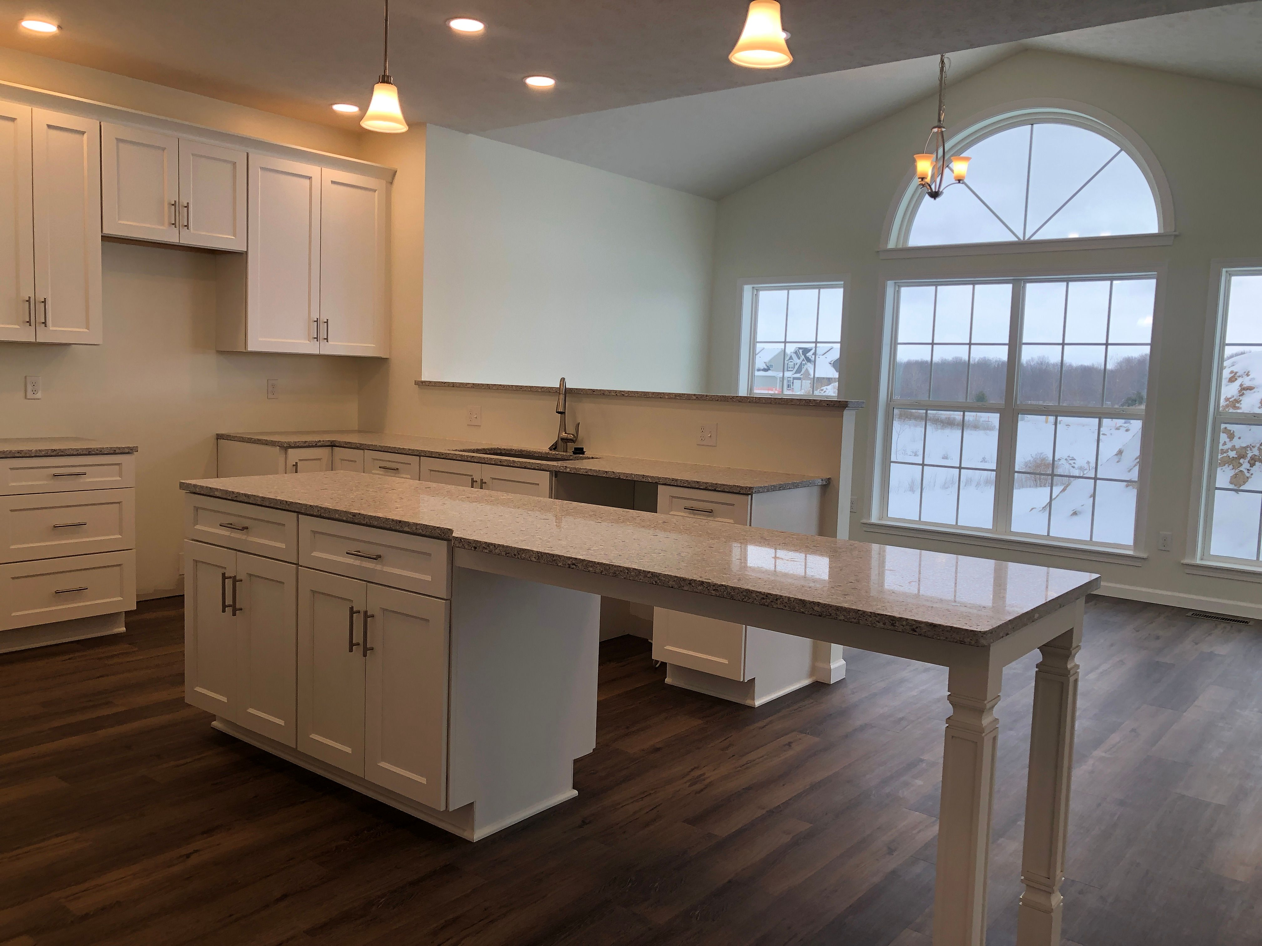Kitchen featured in the Beckham By Faber Builders in Rochester, NY
