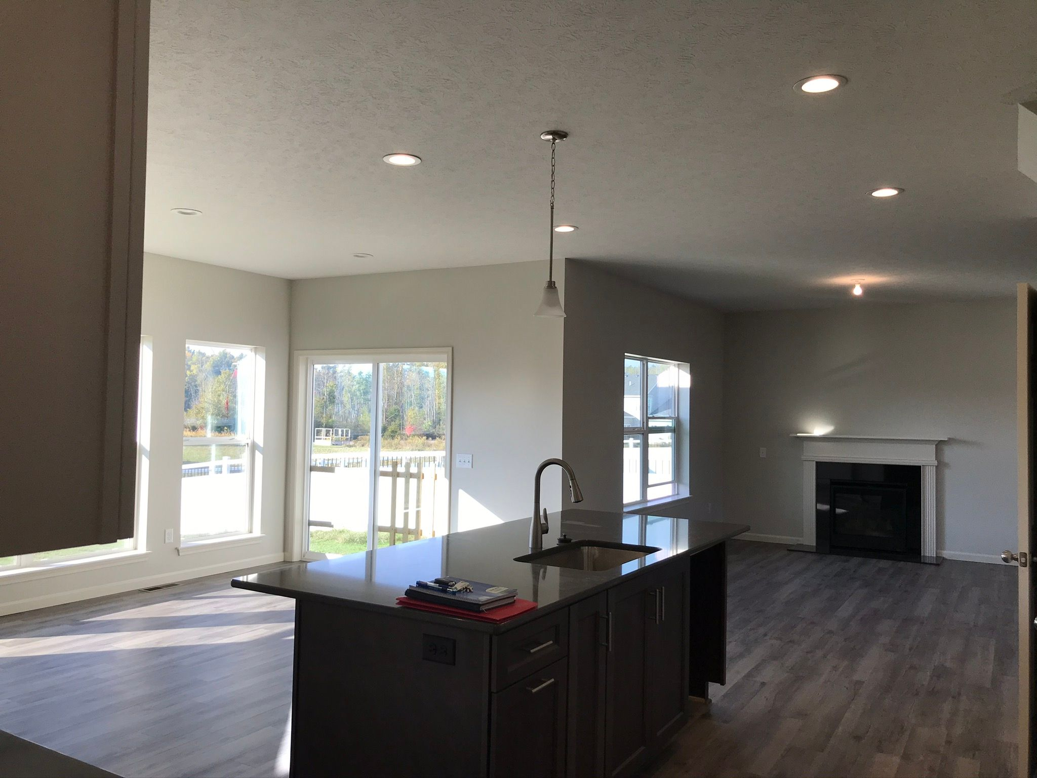 Kitchen featured in the Saginaw II By Faber Builders in Rochester, NY
