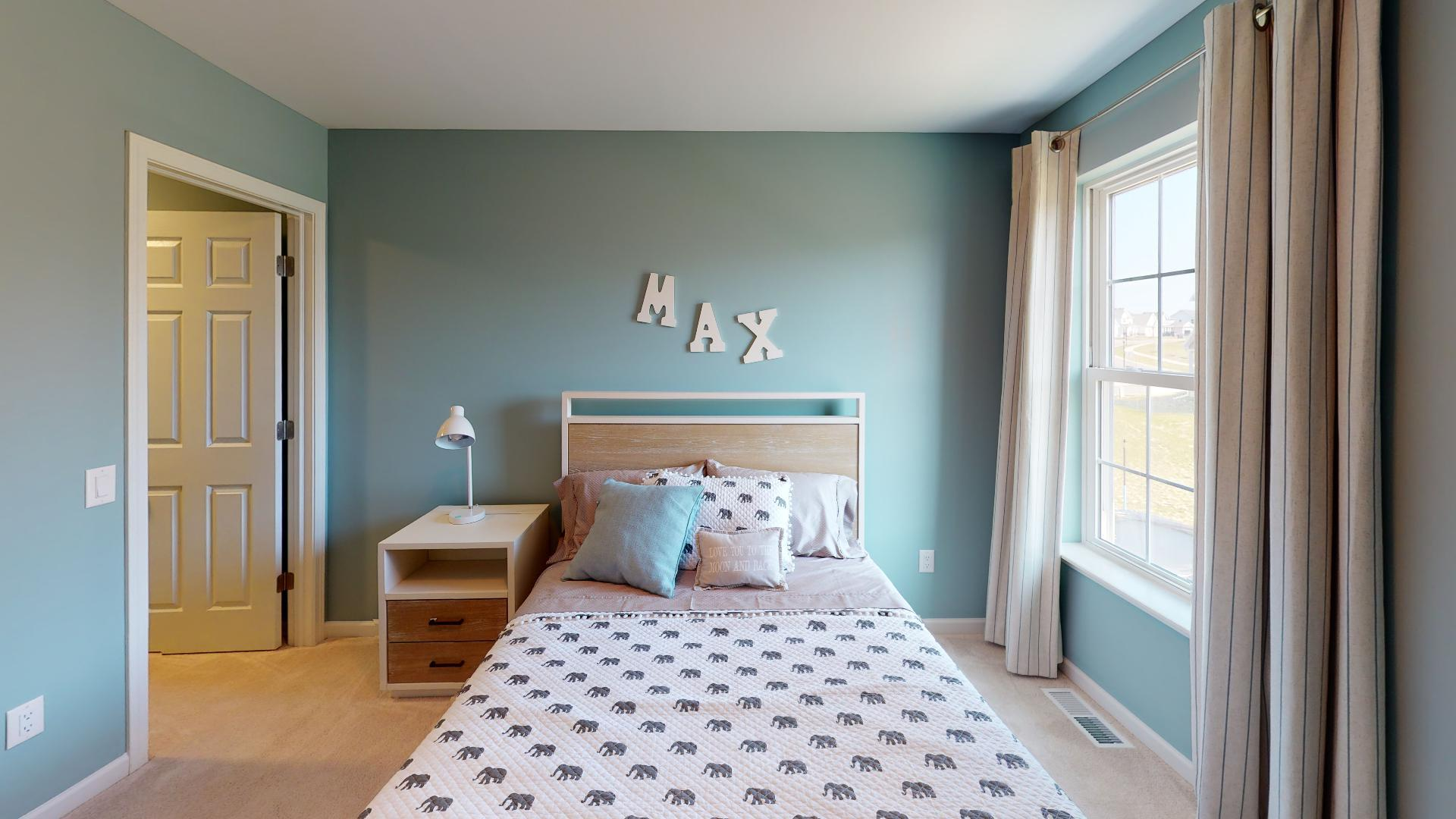 Bedroom featured in the McMillon By Faber Builders in Rochester, NY
