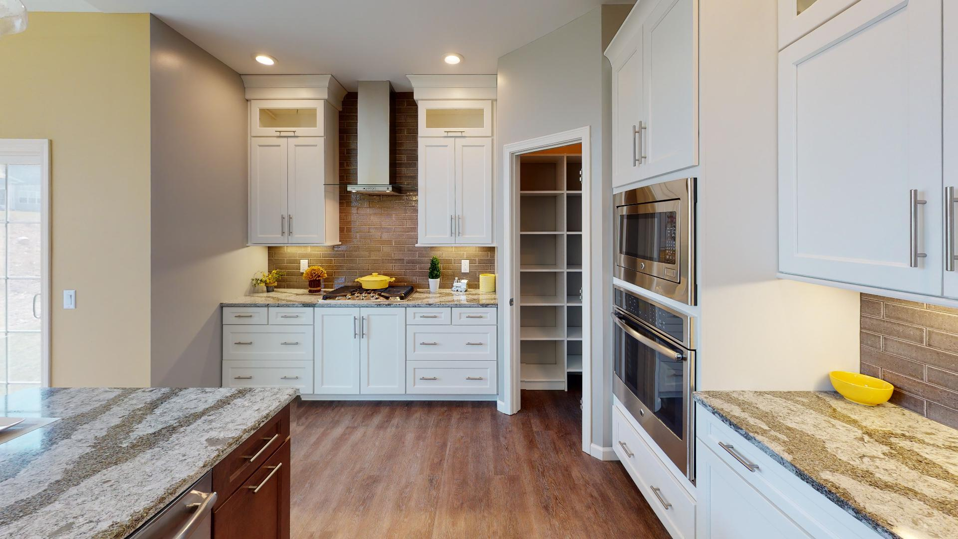 Kitchen featured in the McMillon By Faber Builders in Rochester, NY