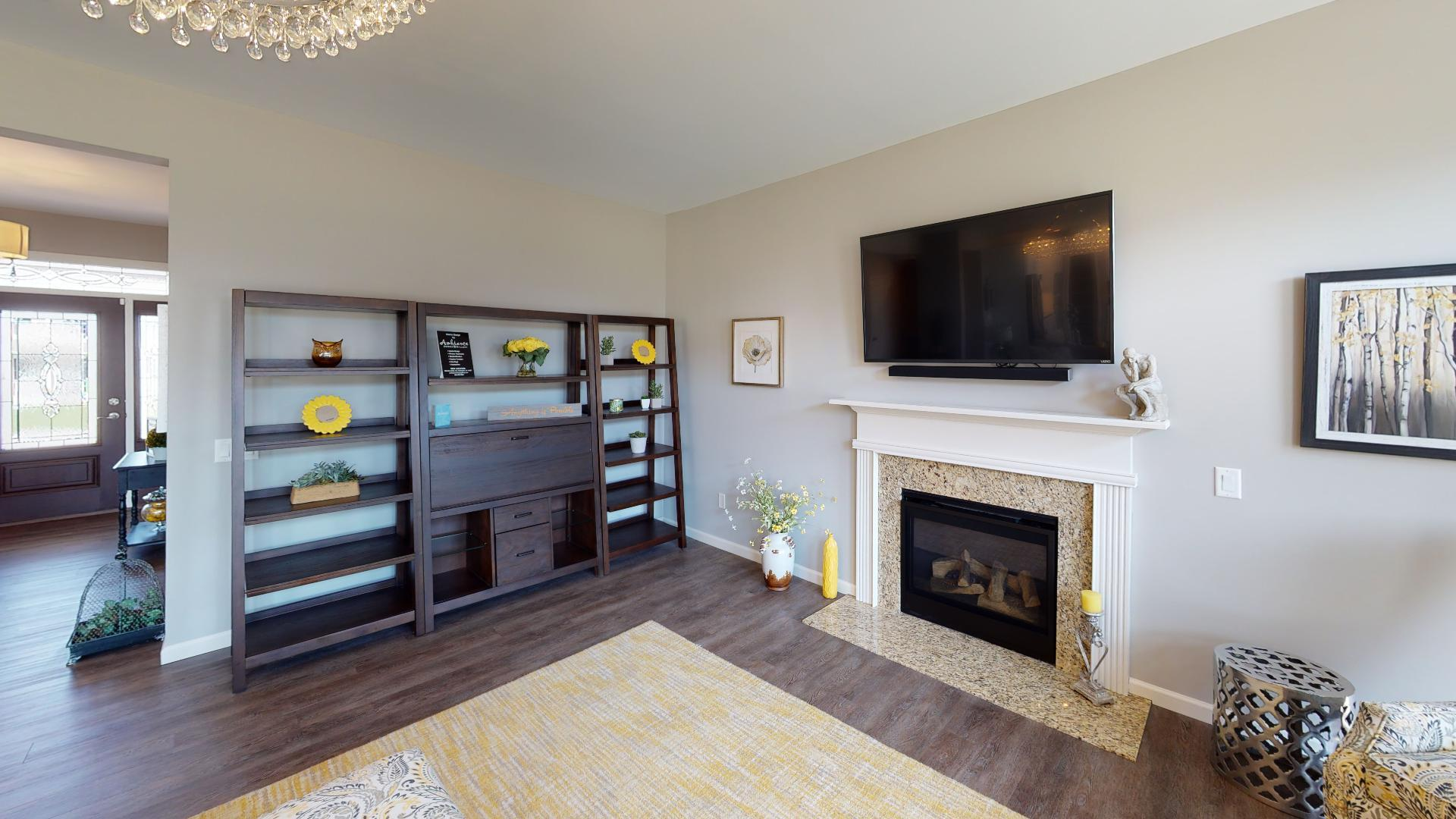 Living Area featured in the McMillon By Faber Builders in Rochester, NY