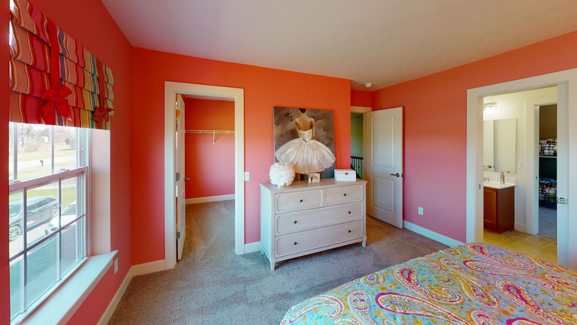 Bedroom featured in the Clarion By Faber Builders in Rochester, NY