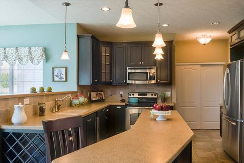 Kitchen-in-Medway 3-at-Carriage House-in-Rochester