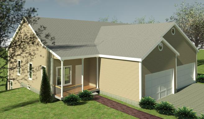 Tea Party Circle (Walt Whitman Twin Townhouse)
