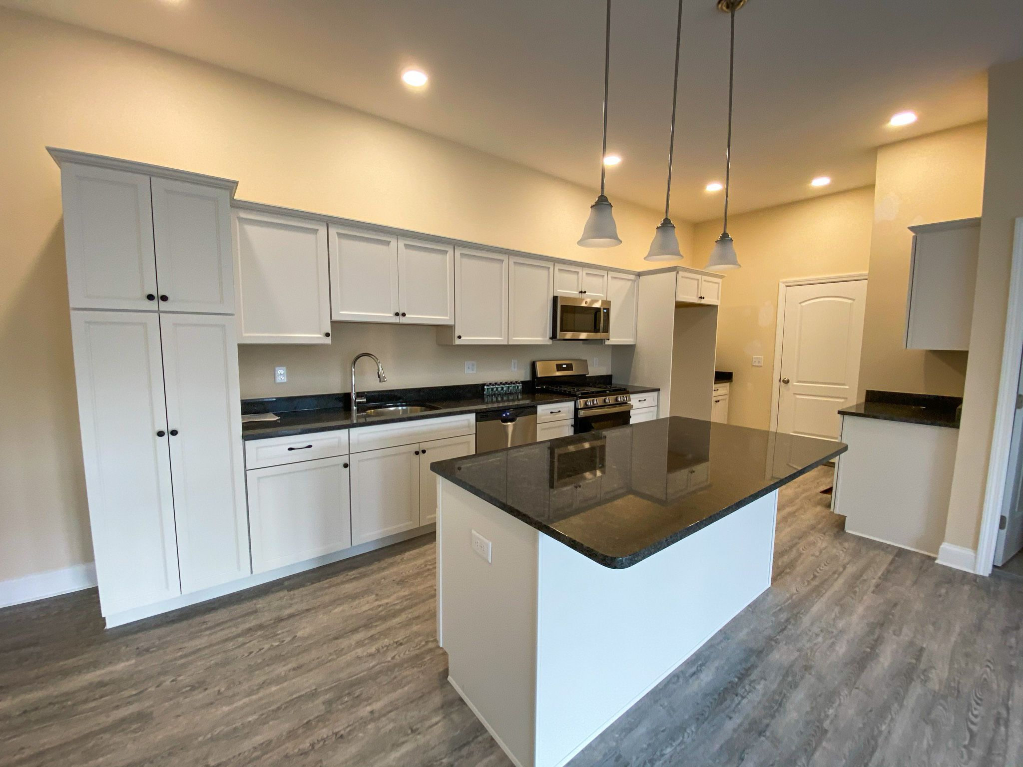Kitchen featured in the Robert Frost Twin Townhouse By Fafard Real Estate in Worcester, MA