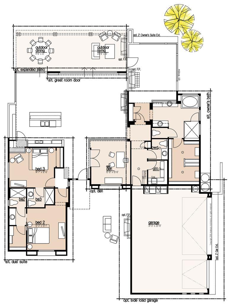 Catalina Option Floor Plan 1