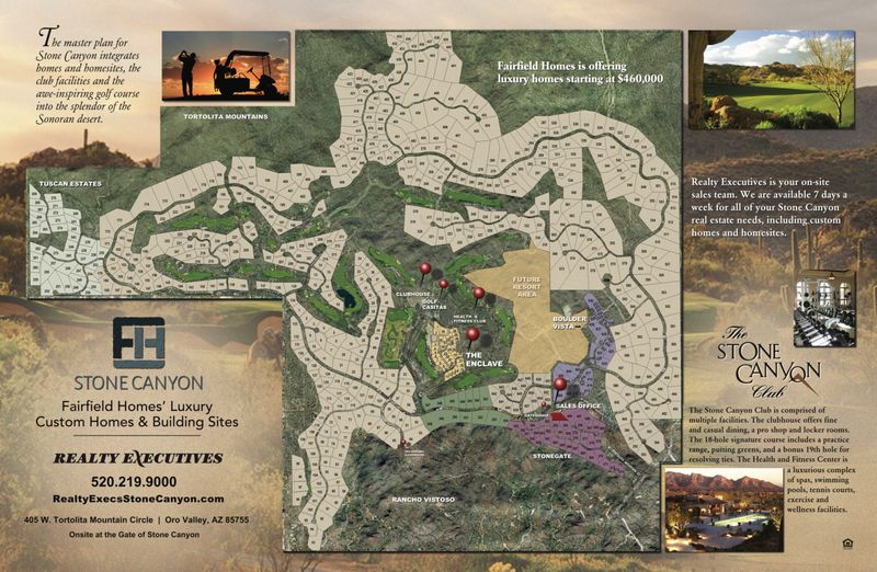 Stone Canyon Map