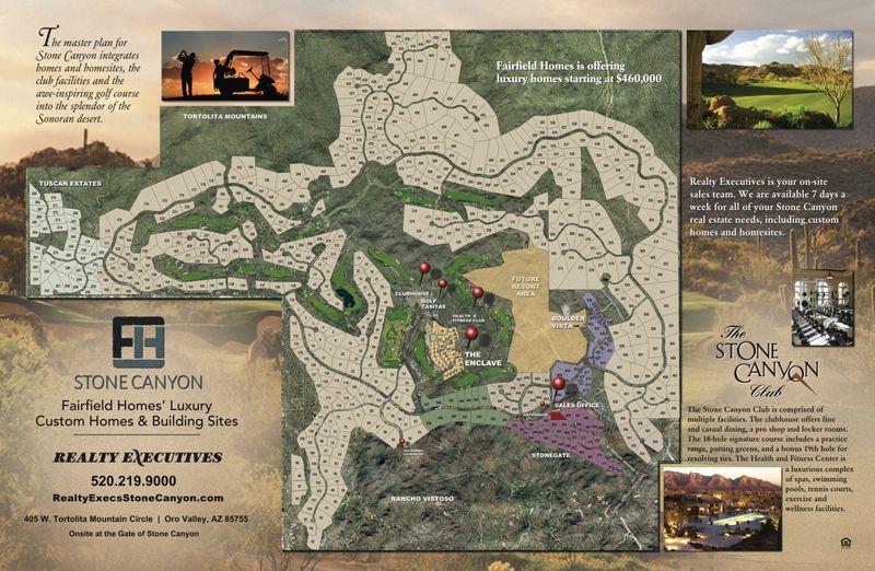 Stone Canyon Map