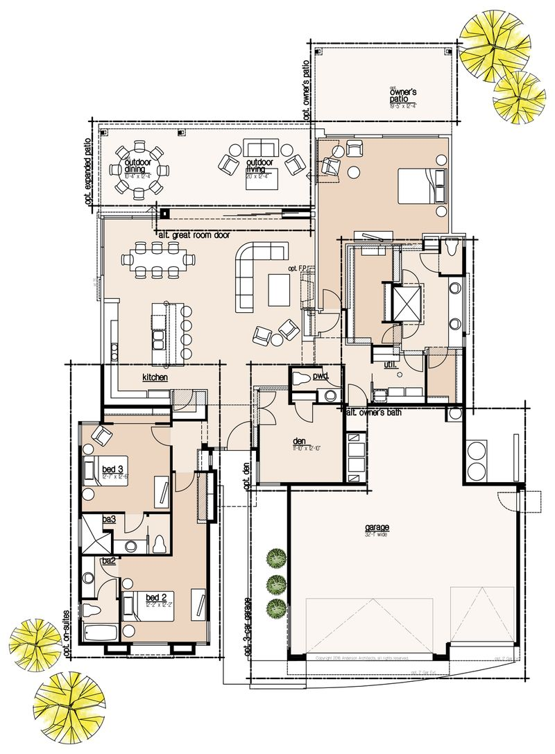 2307 Optional Floor Plan