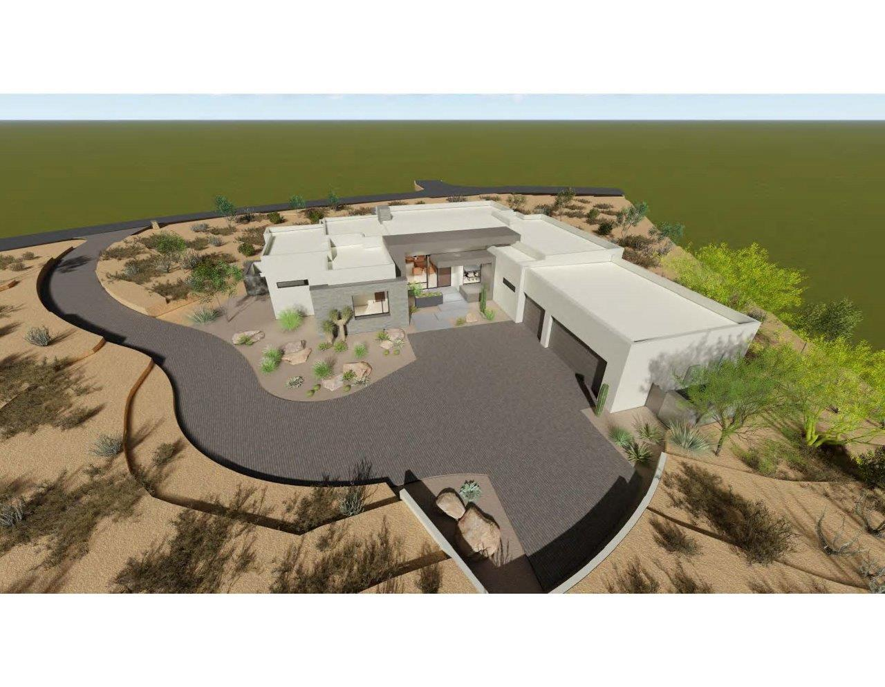 Exterior featured in the 3091 By Fairfield Homes in Tucson, AZ