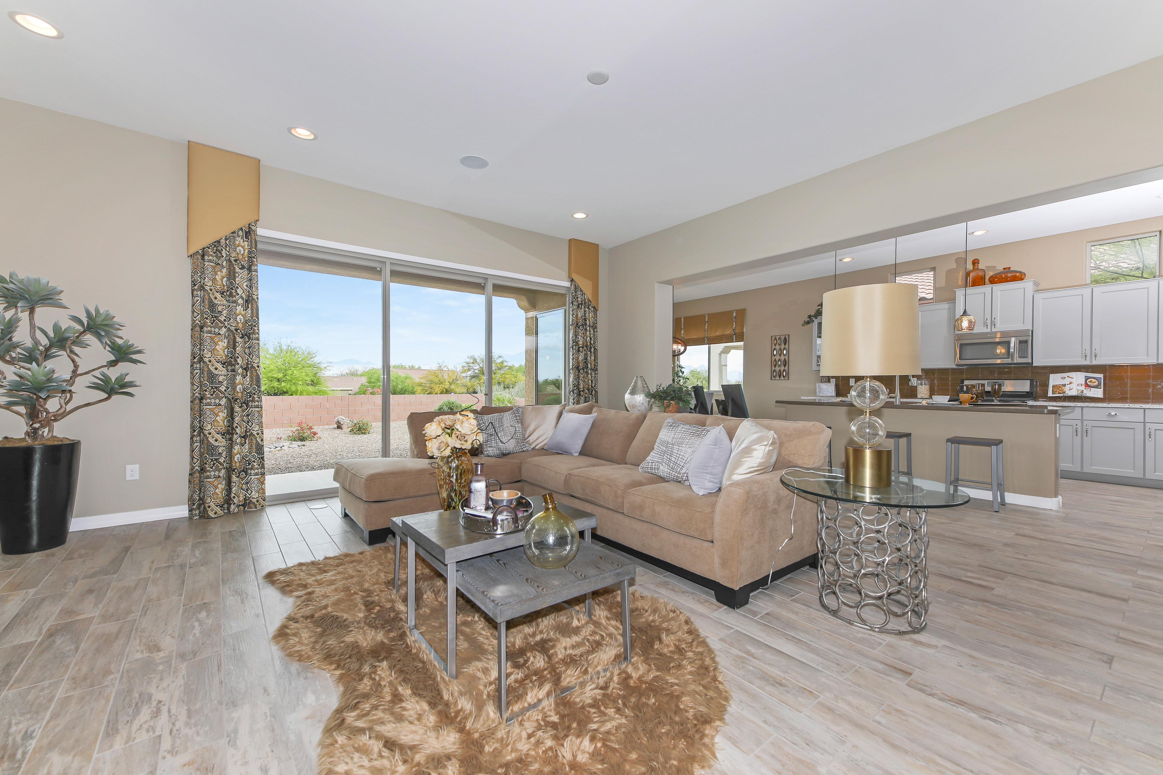 Living Area featured in the Cimarron By Fairfield Homes in Tucson, AZ
