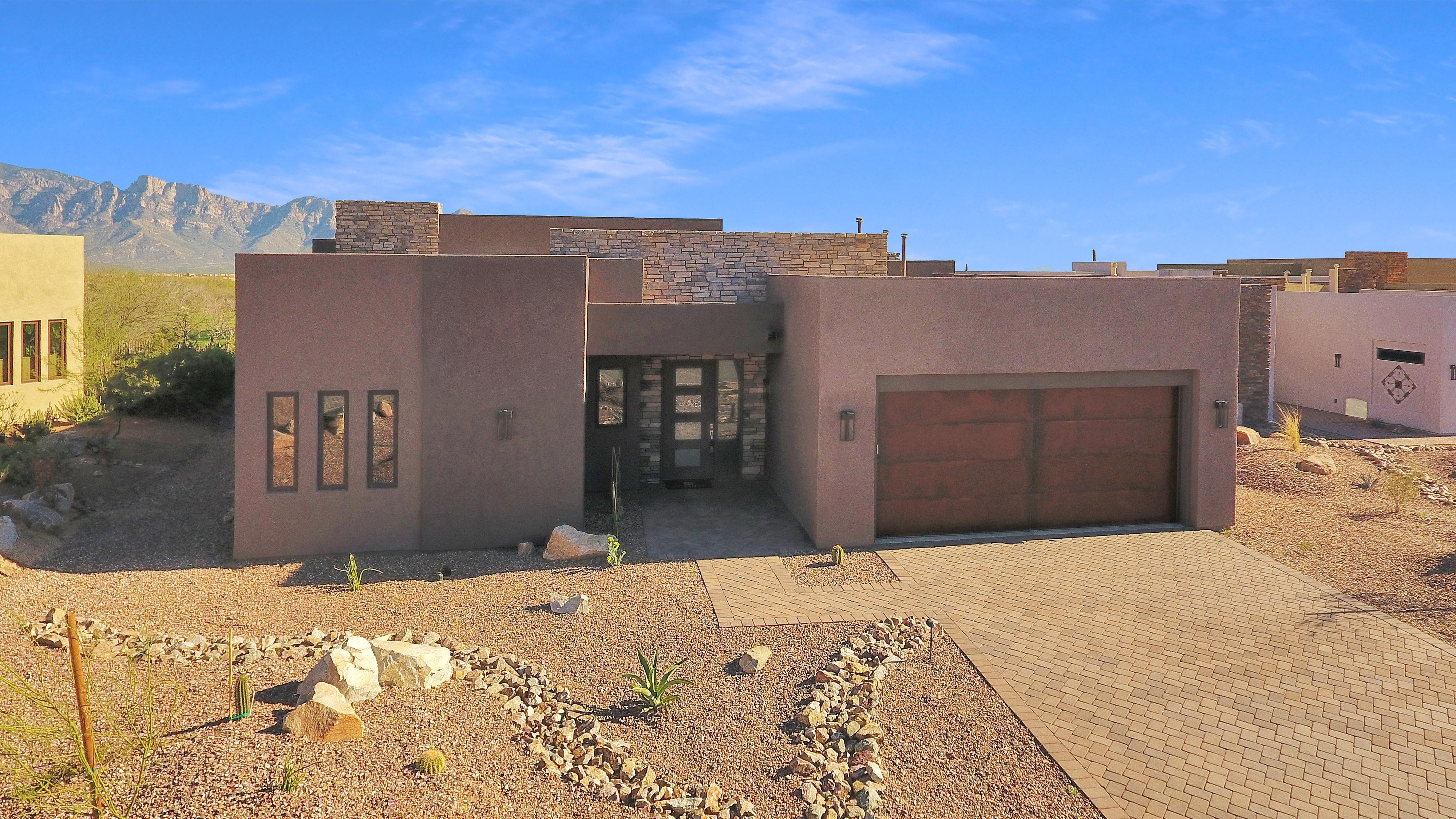 Exterior featured in the Double Eagle By Fairfield Homes in Tucson, AZ