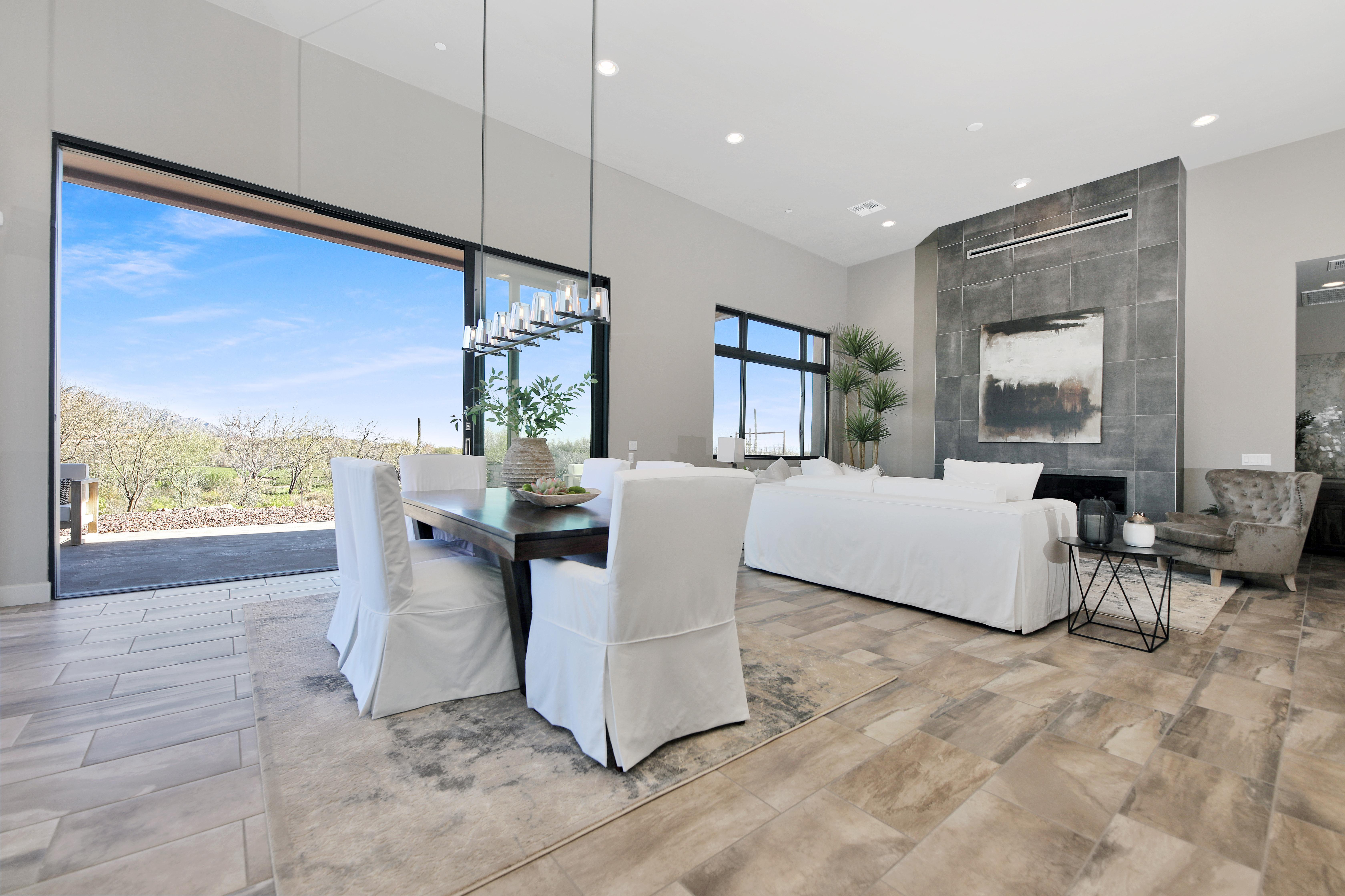 Living Area featured in the Double Eagle By Fairfield Homes in Tucson, AZ