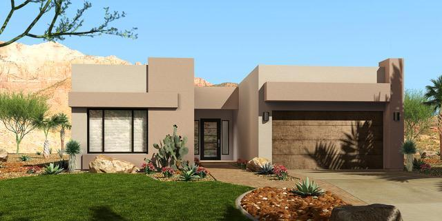 Exterior featured in the Rosewood By Fairfield Homes in Tucson, AZ