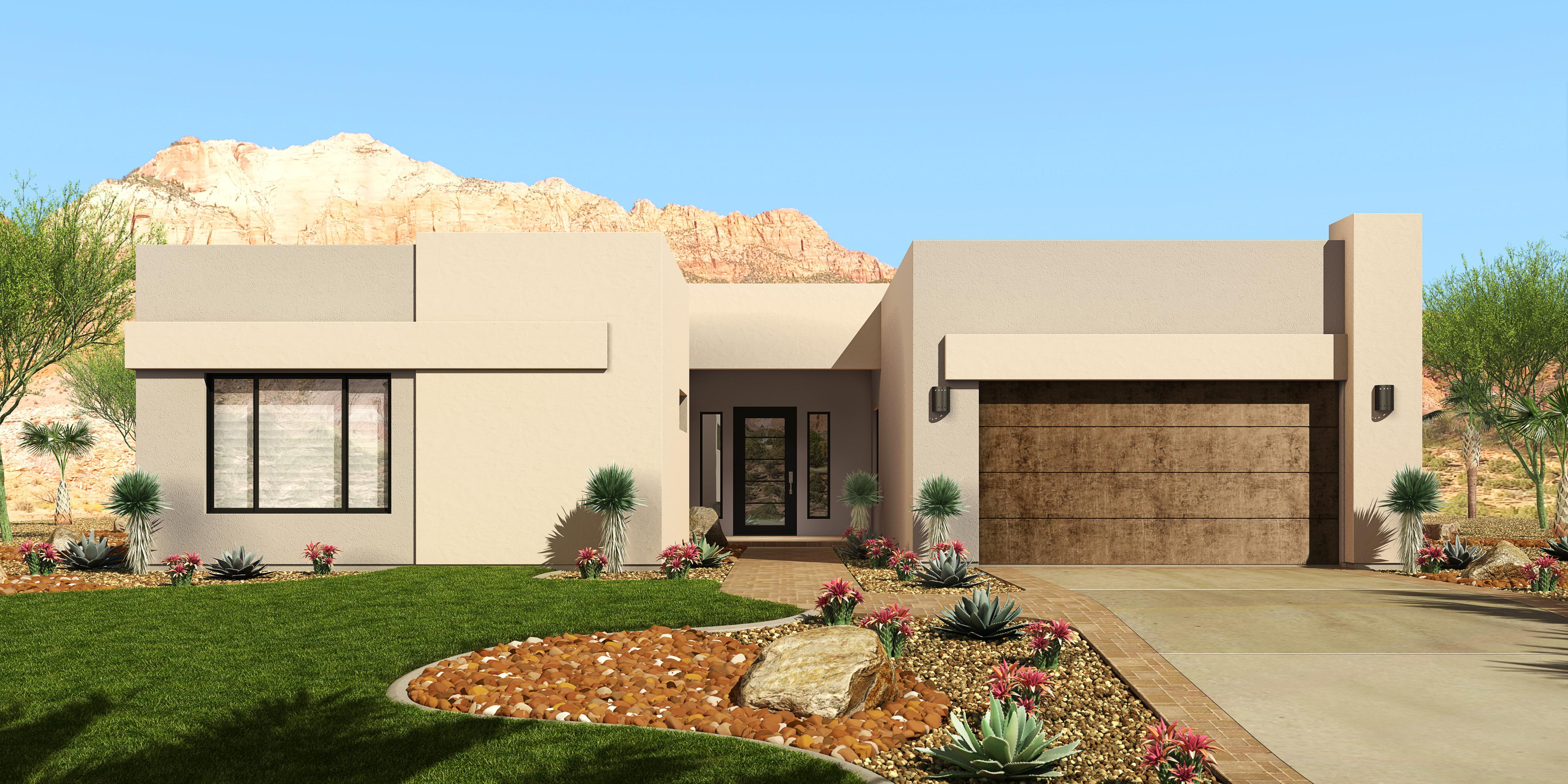 Exterior featured in the Ocotillo By Fairfield Homes in Tucson, AZ