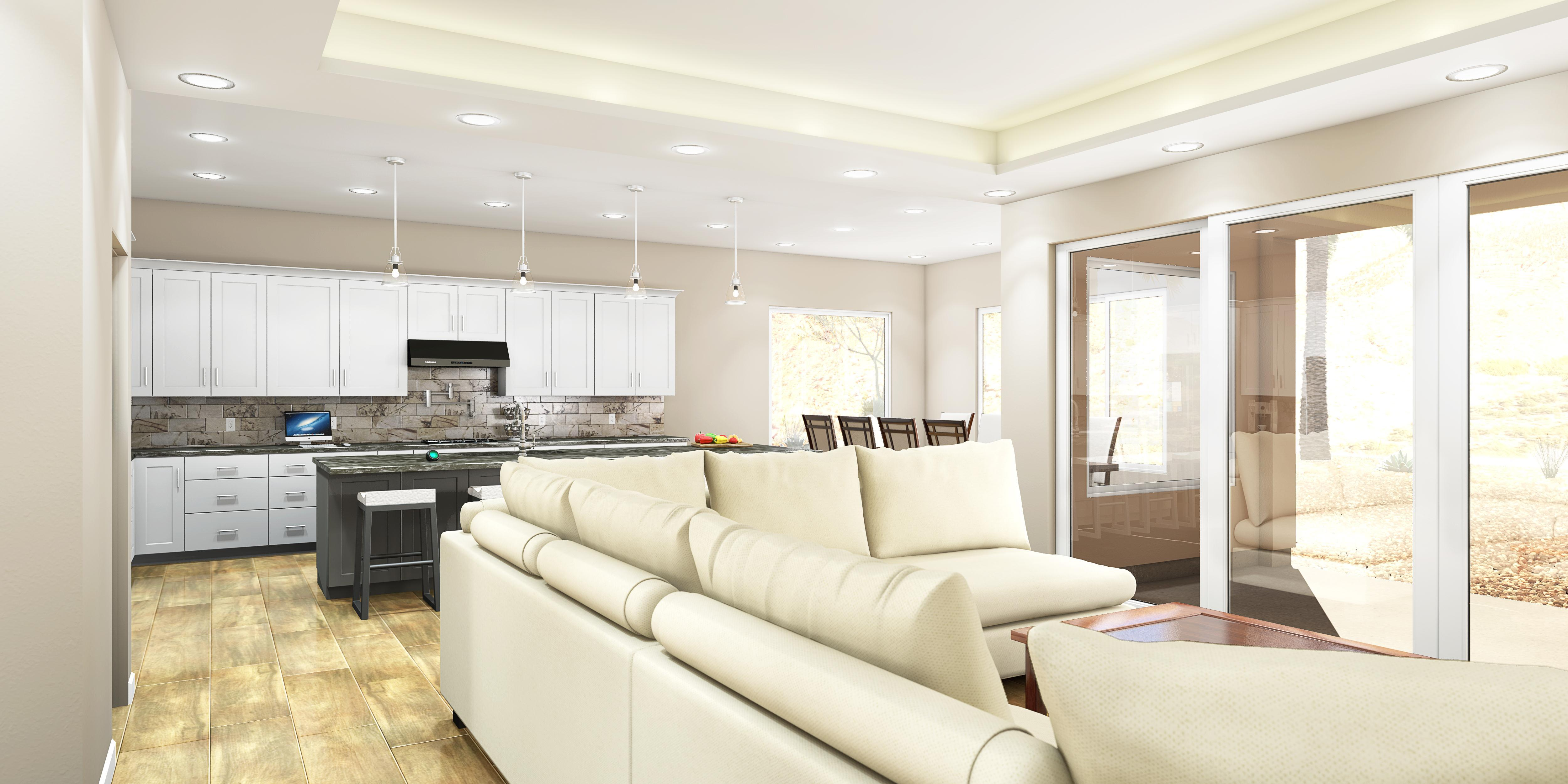 Living Area featured in the Ocotillo By Fairfield Homes in Tucson, AZ