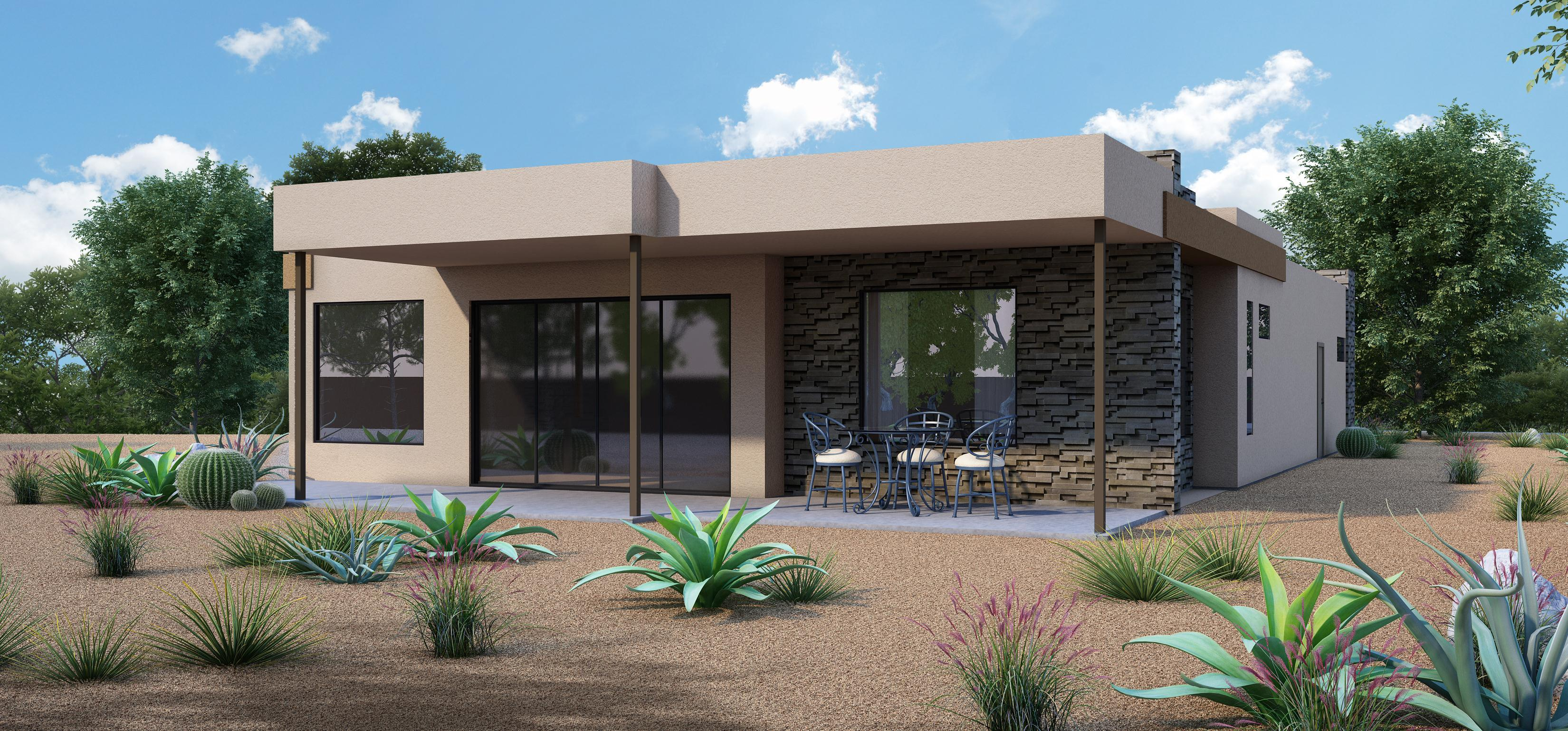 Exterior featured in the 2692 By Fairfield Homes in Tucson, AZ