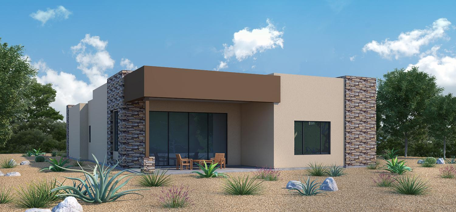 'The Enclave at Stone Canyon V' by Fairfield Homes II in Tucson