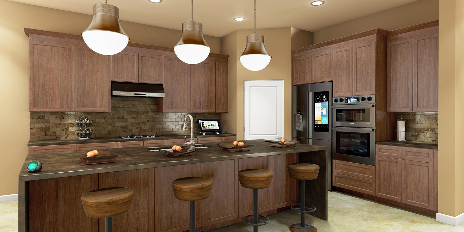 Kitchen featured in the Rosewood E By Fairfield Homes in Tucson, AZ