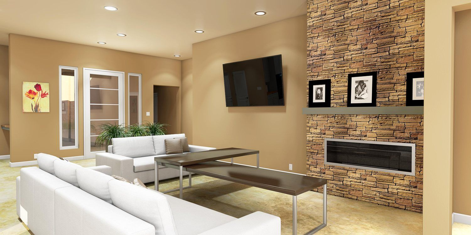 Living Area featured in the Rosewood E By Fairfield Homes in Tucson, AZ