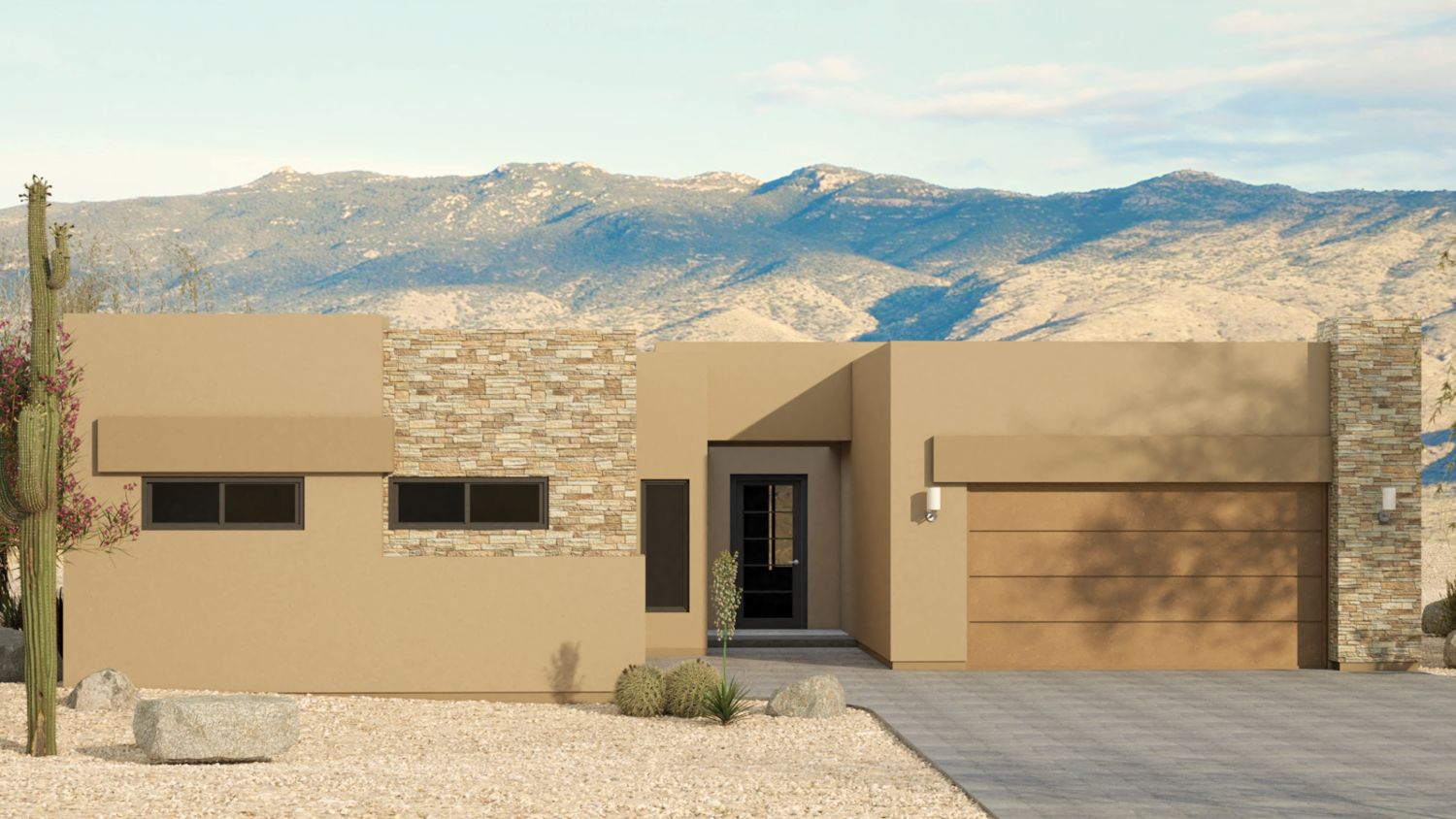 Exterior featured in the Acacia By Fairfield Homes in Tucson, AZ