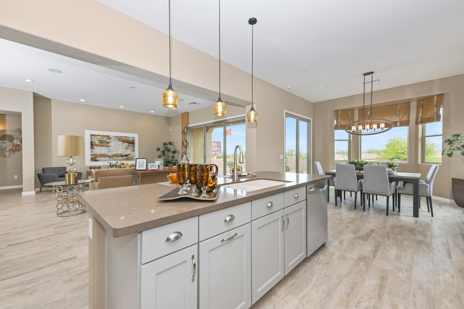 Kitchen featured in the Cimarron By Fairfield Homes in Tucson, AZ