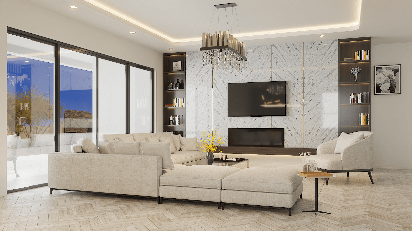 Living Area featured in the Manzanita By Fairfield Homes in Tucson, AZ
