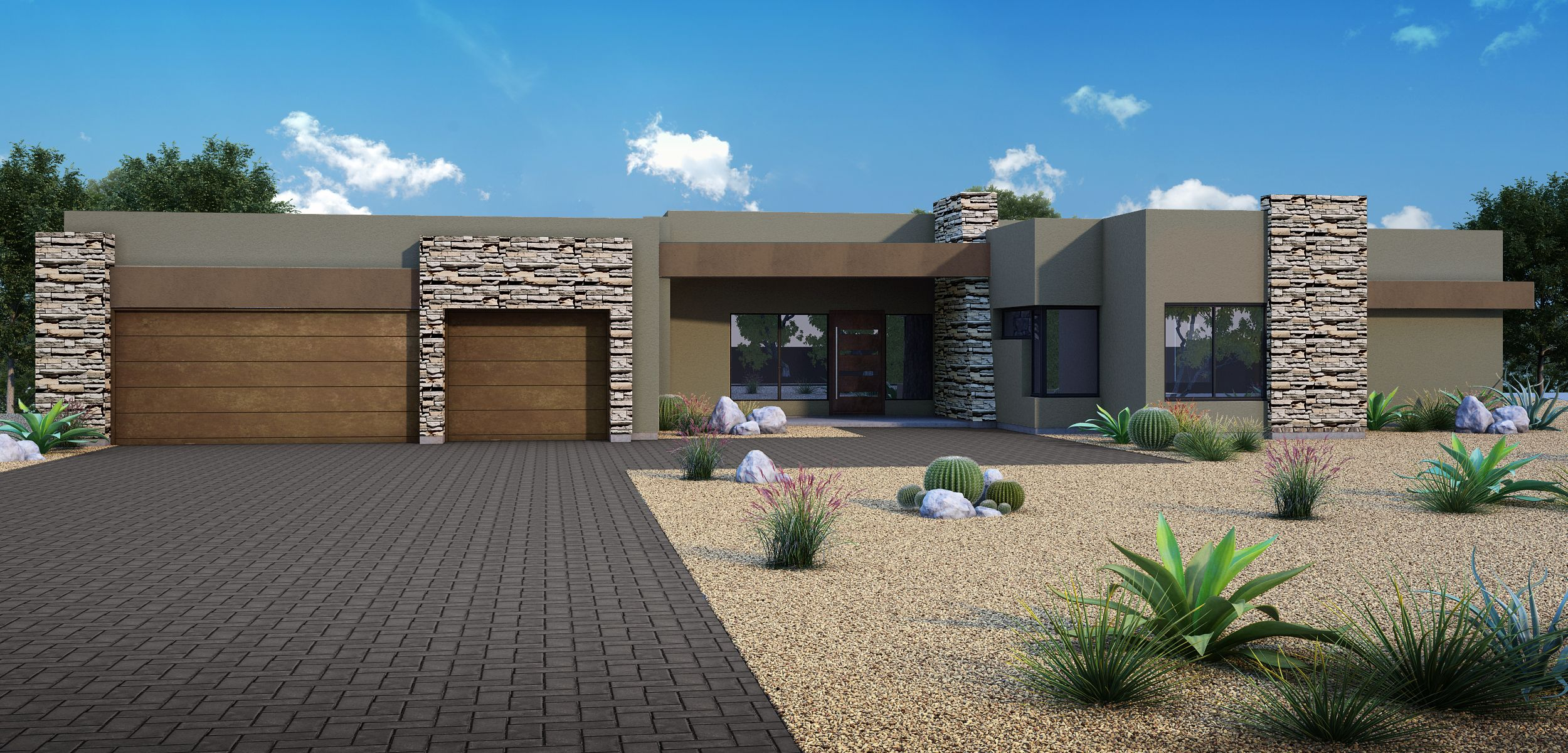 Exterior featured in the 3324 By Fairfield Homes in Tucson, AZ