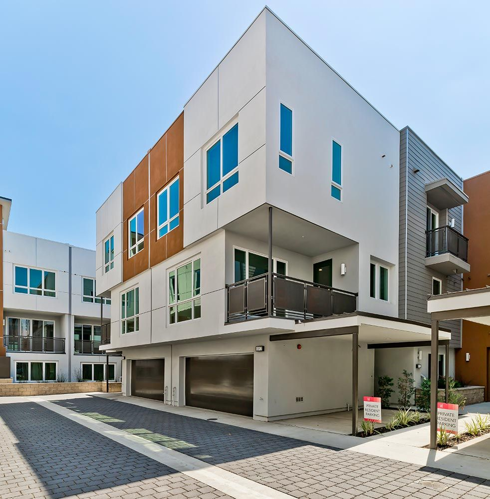 Exterior featured in the Plan 4 By Family Development Group in Los Angeles, CA