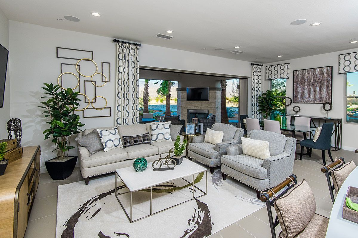 Living Area featured in the Haven By Family Development Group in Phoenix-Mesa, AZ
