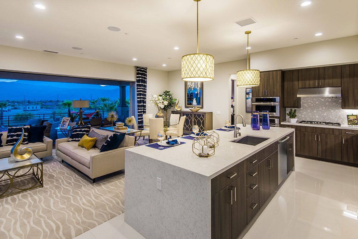 Living Area featured in the Preserve By Family Development Group in Phoenix-Mesa, AZ