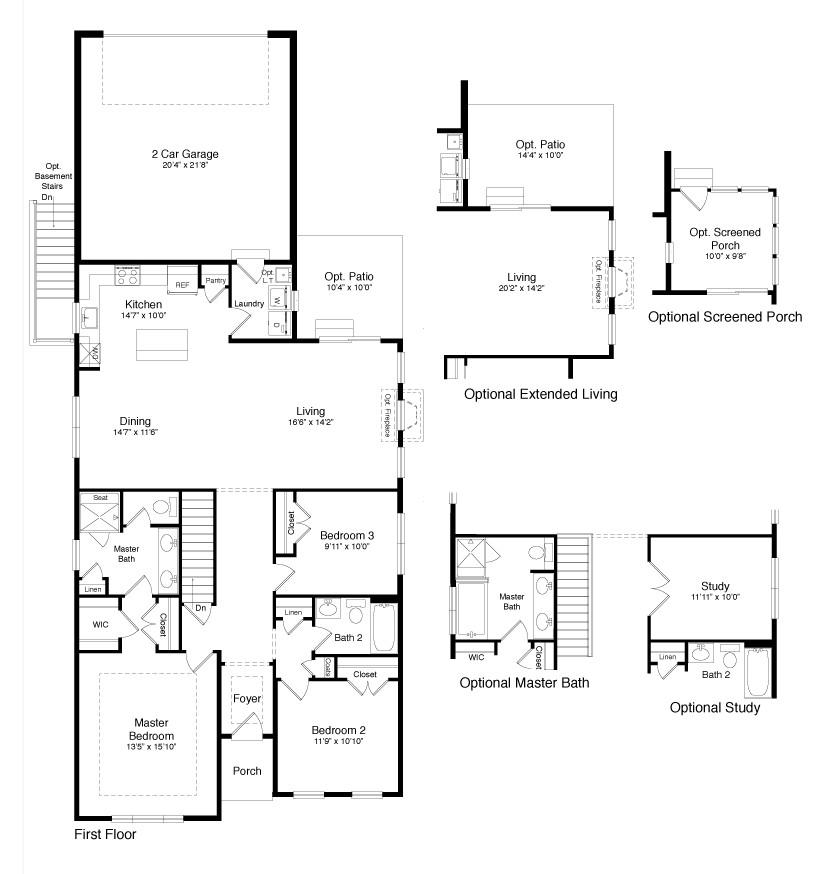 Braxton Plan At Heritage Creek In Milton De By Fernmoor Homes