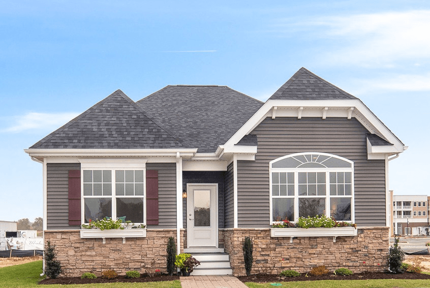 Exterior featured in the Braxton By Fernmoor Homes in Sussex, DE