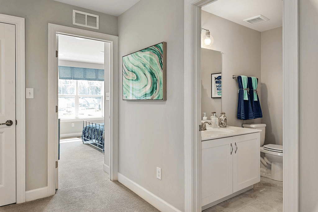 Living Area featured in the Madison By Fernmoor Homes in Sussex, DE