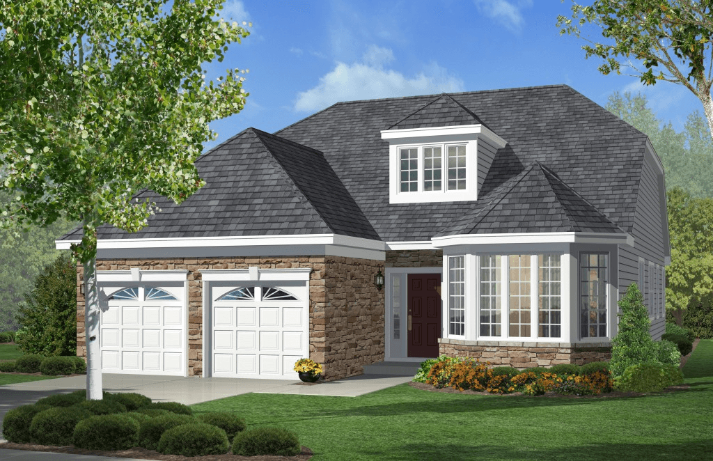 Exterior featured in The Rhapsody By Fernmoor Homes in Atlantic-Cape May, NJ