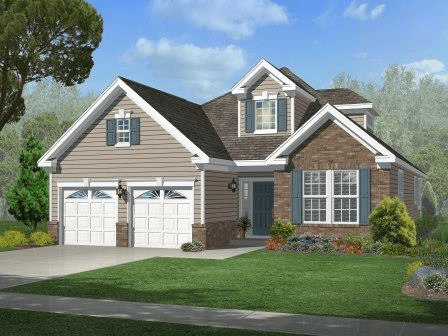 Exterior featured in The Concerto By Fernmoor Homes in Atlantic-Cape May, NJ